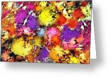 Pigment Noise Greeting Card