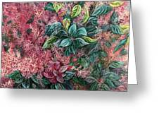 Pink Infusion Greeting Card