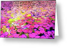 Pink Lily's Greeting Card
