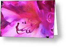 Pink O'keefe Greeting Card