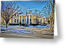 Pittsford Village Hall Greeting Card