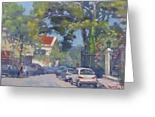 Plateia Kefalari Kifissia Athens Greeting Card