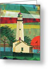 Point Aux Barques-michigan  Greeting Card