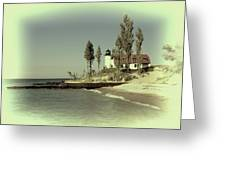 Point Betsie Lighthouse 2 Greeting Card