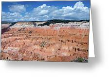 Point Supreme Overlook - Cedar Breaks - Utah  Greeting Card