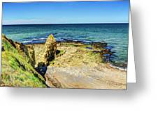 Pointe Du Hoc Panorama Greeting Card