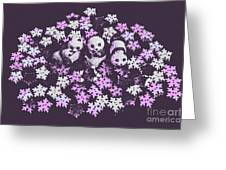 Polar Pop Art Greeting Card
