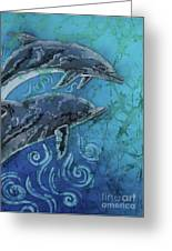 Porpoise Pair - Close Up Greeting Card