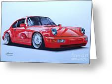 Porsche 964  Greeting Card
