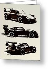 Porsche Rwb 930 Greeting Card