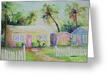 Port A Cabins Greeting Card