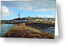 Porthleven Cornwall Greeting Card