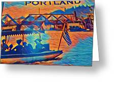 Portland  Greeting Card