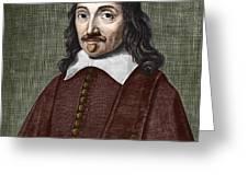 Portrait Of Descartes Greeting Card