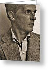 Portrait Of Ludwig Wittgenstein, 1947 Greeting Card