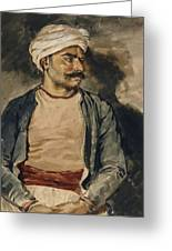 Portrait Of Mustapha Greeting Card