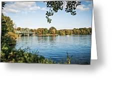 Potsdam - Havel River / Glienicke Bridge Greeting Card