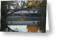 Potter's Bridge, Noblesville, Indiana Greeting Card