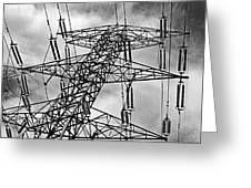 Power Tower No. 3 Greeting Card