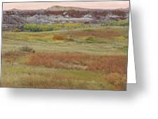 Prairie Reverie On The Western Edge Greeting Card