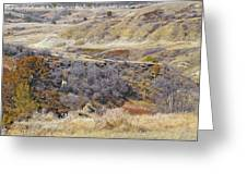 Prairie Slopes Reverie Greeting Card by Cris Fulton