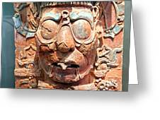 Pre-columbian Eye Glasses, Palenque, Mexico Greeting Card