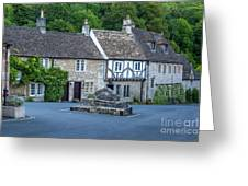 Pre-dawn In Castle Combe Greeting Card by Brian Jannsen