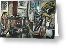 Preservation Hall Jazz Band Greeting Card