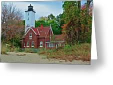 Presque Isle Lighthouse Greeting Card