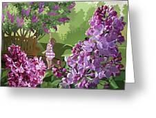Print Greeting Card by Clint Hansen