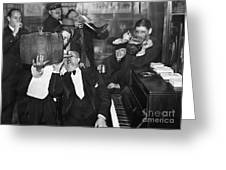 Prohibition Ends Drink Up Greeting Card