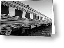 Pullman Passenger Cars Santa Fe Railroad Greeting Card