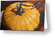 Pumpkin Delight Greeting Card