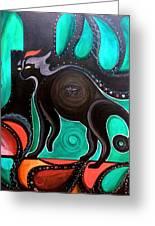 Pyewacket Noir Greeting Card