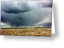 Rain Down On Parched Fields  Greeting Card