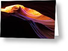 Rainbow Canyon Greeting Card
