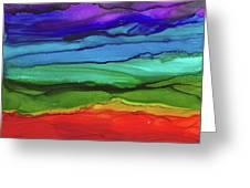 Rainbow Vision Greeting Card