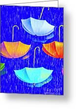 Rainy Day Parade Greeting Card