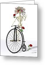 Rambling Rosy  Greeting Card