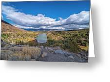 Red Lake Greeting Card