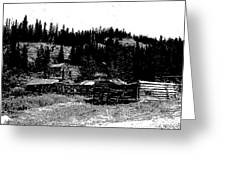 Red Lion Ghost Town Montana Greeting Card