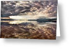 Red Rock Lake Sunrise Greeting Card