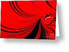 Red Sea. Greeting Card