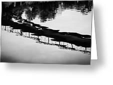 Reflected Bridge Greeting Card