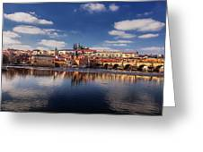 Reflections Of Prague Greeting Card