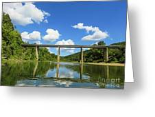 Reflections Of The Ozarks Greeting Card
