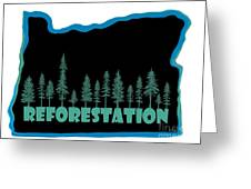 Reforestation Greeting Card