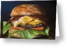 Renaissance Burger  Greeting Card