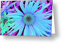 Rhapsody In Bleu Greeting Card