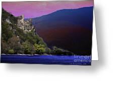 Rheinstein Castle Greeting Card